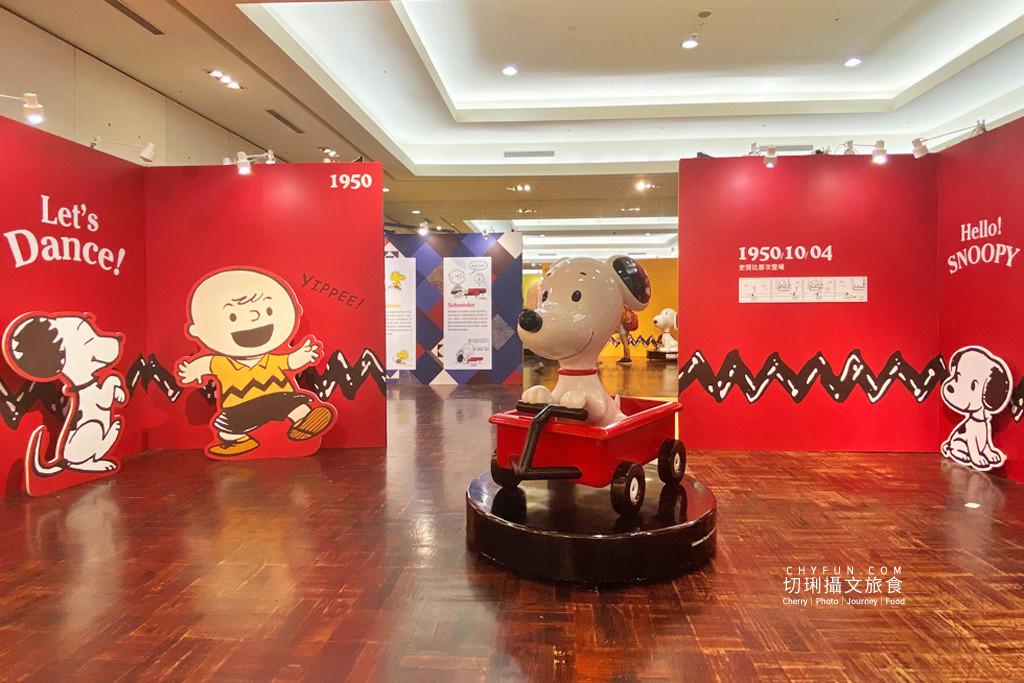 台南旅遊、台南展覽、史努比展台南、史努比70週年