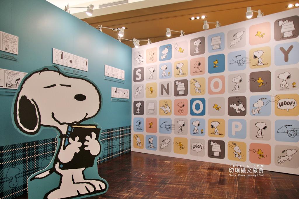 台南旅遊、台南展覽、史努比展台南、史努比70週年09 台南|史努比70周年巡迴特展免費入場拍個夠,花生漫畫年代角色變化很有趣