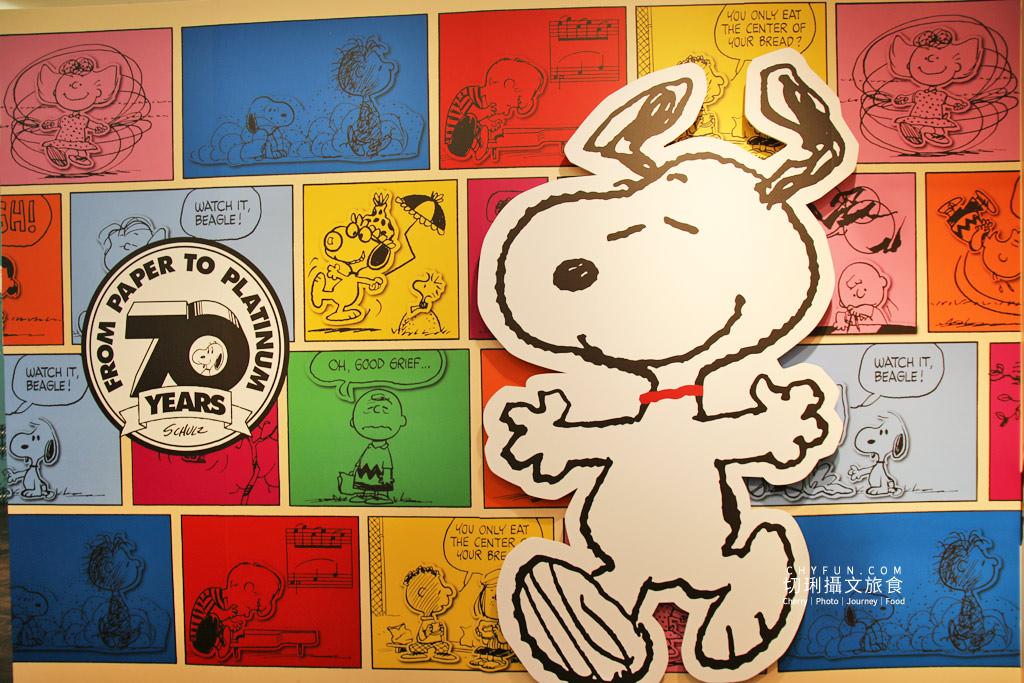 台南旅遊、台南展覽、史努比展台南、史努比70週年11 台南|史努比70周年巡迴特展免費入場拍個夠,花生漫畫年代角色變化很有趣