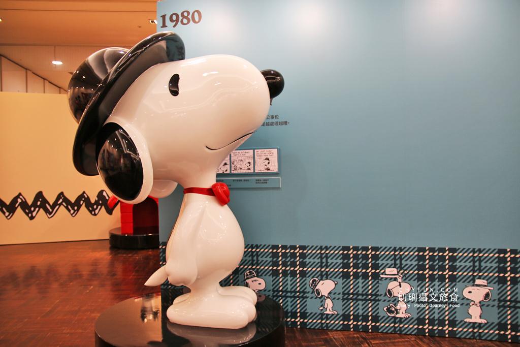 台南旅遊、台南展覽、史努比展台南、史努比70週年12 台南|史努比70周年巡迴特展免費入場拍個夠,花生漫畫年代角色變化很有趣