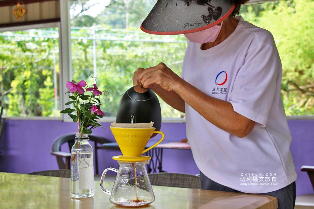 嘉義中埔彭媽媽咖啡10 嘉義|中埔彭媽媽咖啡自種自烘,山中三合院喝咖啡聞香享清幽感受濃厚人情味