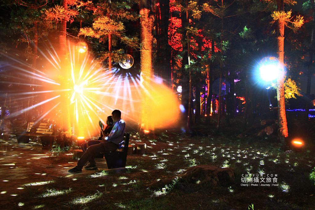嘉義旅遊光織影舞北香湖公園04 嘉義|光織影舞藝術展在北香湖公園,夜遊全台最大月亮和星羅點點超夢幻