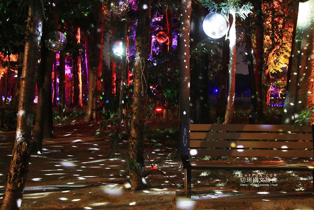 嘉義旅遊光織影舞北香湖公園06 嘉義|光織影舞藝術展在北香湖公園,夜遊全台最大月亮和星羅點點超夢幻