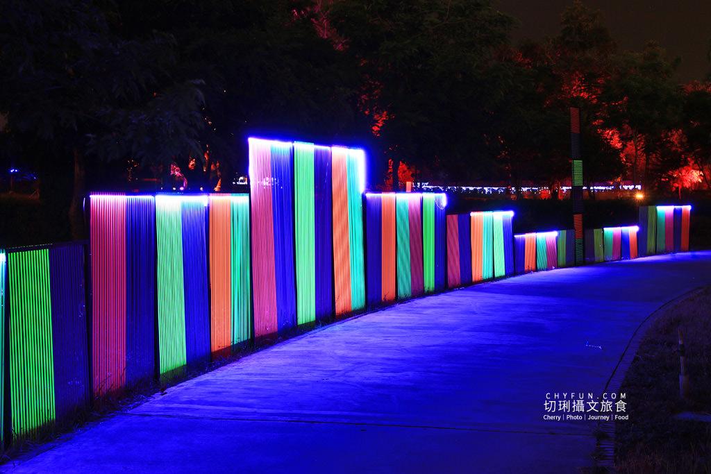 嘉義旅遊光織影舞北香湖公園08 嘉義|光織影舞藝術展在北香湖公園,夜遊全台最大月亮和星羅點點超夢幻