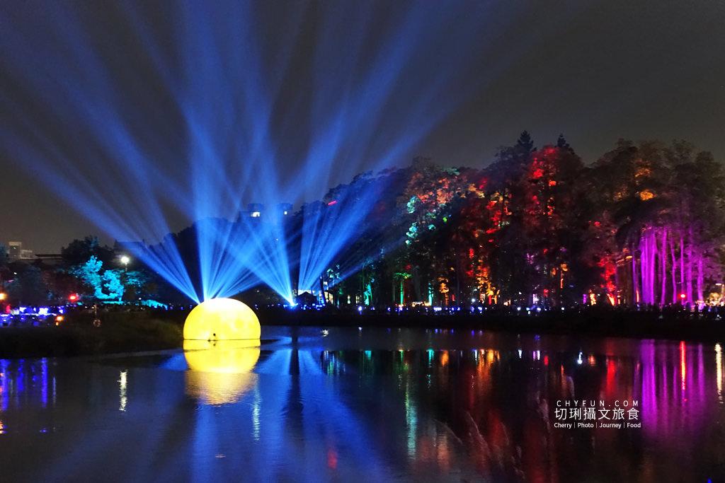 嘉義旅遊光織影舞北香湖公園12 嘉義|光織影舞藝術展在北香湖公園,夜遊全台最大月亮和星羅點點超夢幻