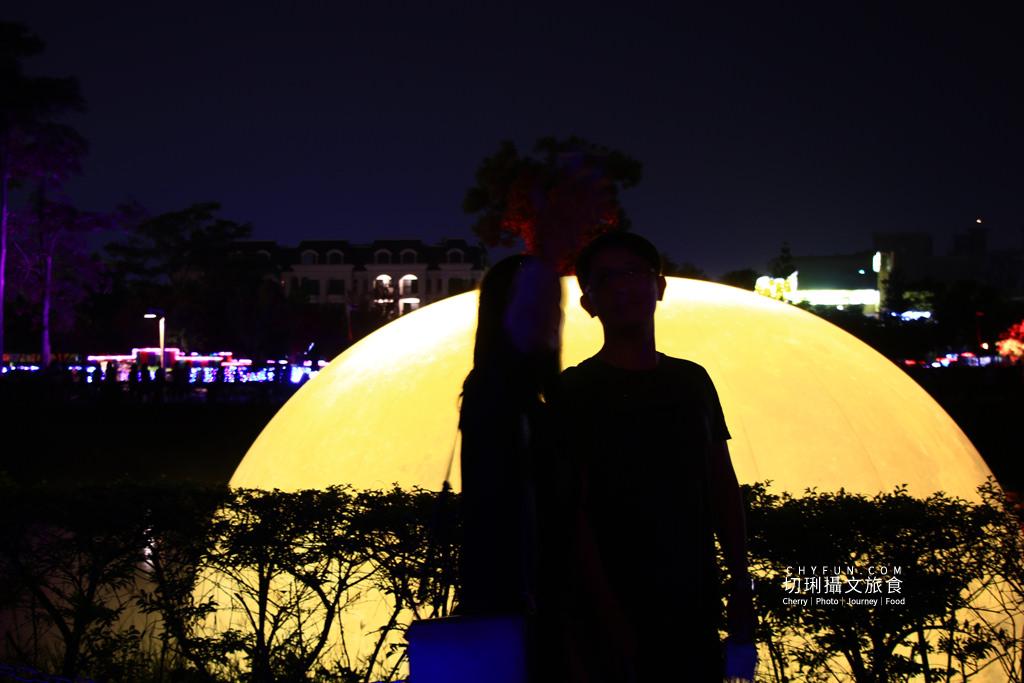 嘉義旅遊光織影舞北香湖公園15 嘉義|光織影舞藝術展在北香湖公園,夜遊全台最大月亮和星羅點點超夢幻