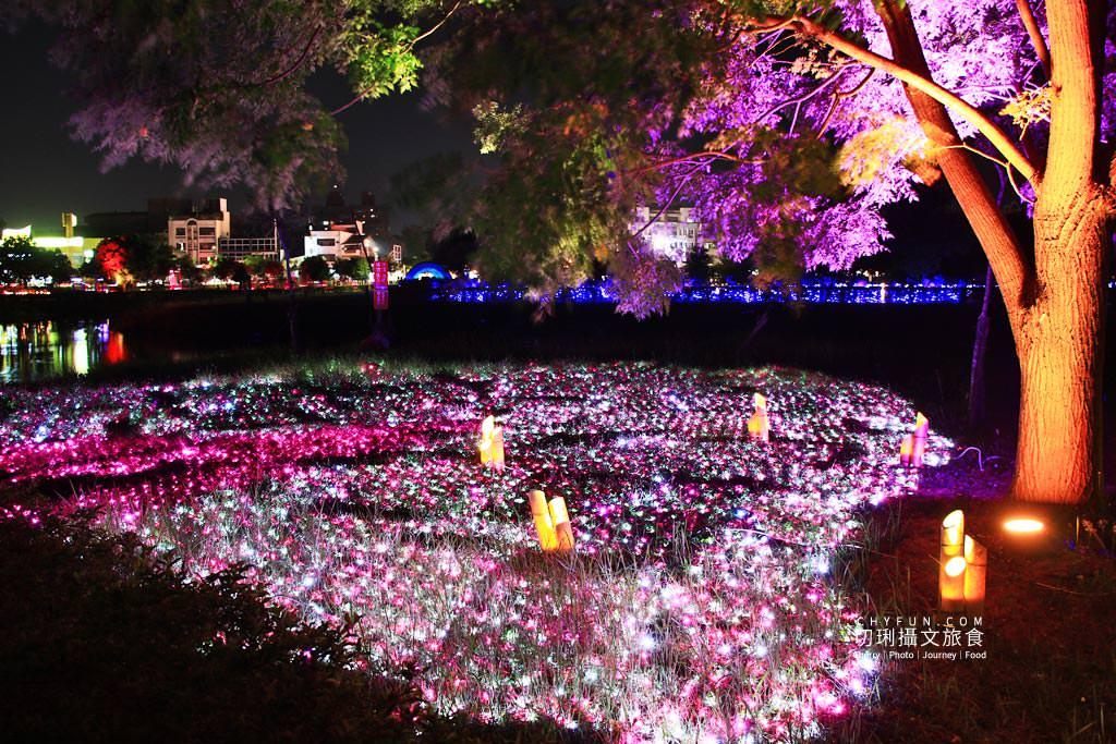 嘉義旅遊光織影舞北香湖公園17 嘉義|光織影舞藝術展在北香湖公園,夜遊全台最大月亮和星羅點點超夢幻