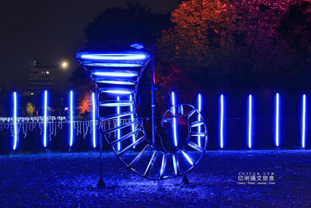 嘉義旅遊光織影舞北香湖公園18 嘉義|光織影舞藝術展在北香湖公園,夜遊全台最大月亮和星羅點點超夢幻