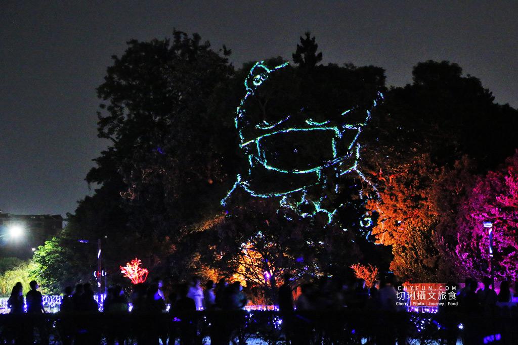 嘉義旅遊光織影舞北香湖公園20 嘉義|光織影舞藝術展在北香湖公園,夜遊全台最大月亮和星羅點點超夢幻