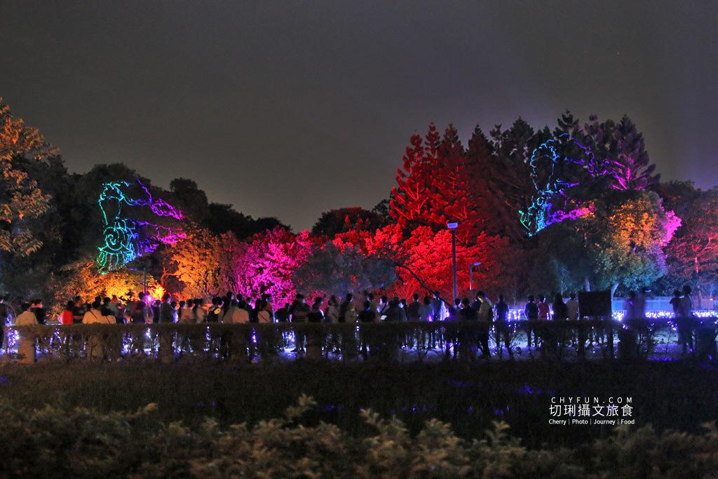 嘉義旅遊光織影舞北香湖公園23 嘉義|光織影舞藝術展在北香湖公園,夜遊全台最大月亮和星羅點點超夢幻