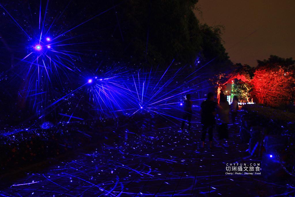 嘉義旅遊光織影舞北香湖公園25 嘉義|光織影舞藝術展在北香湖公園,夜遊全台最大月亮和星羅點點超夢幻