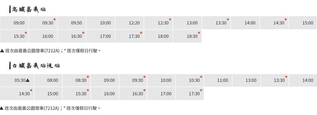 嘉義7212號嘉義高鐵往返嘉義車站時刻表 嘉義|嘉義高鐵到嘉義火車站接駁資訊,交通時刻票價位置一次瞭