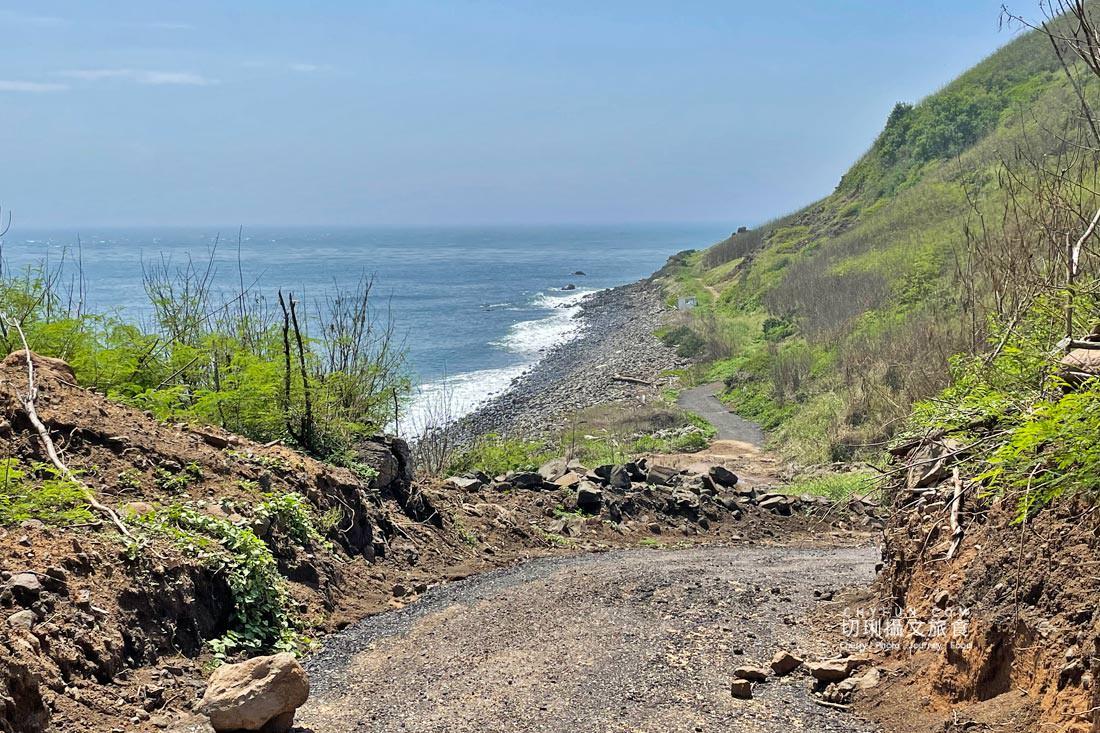 外垵海賊洞25 澎湖 外垵海賊洞美麗的傳說愛心岩洞板狀裂岩,退潮來賞石觀浪獨享靜謐地