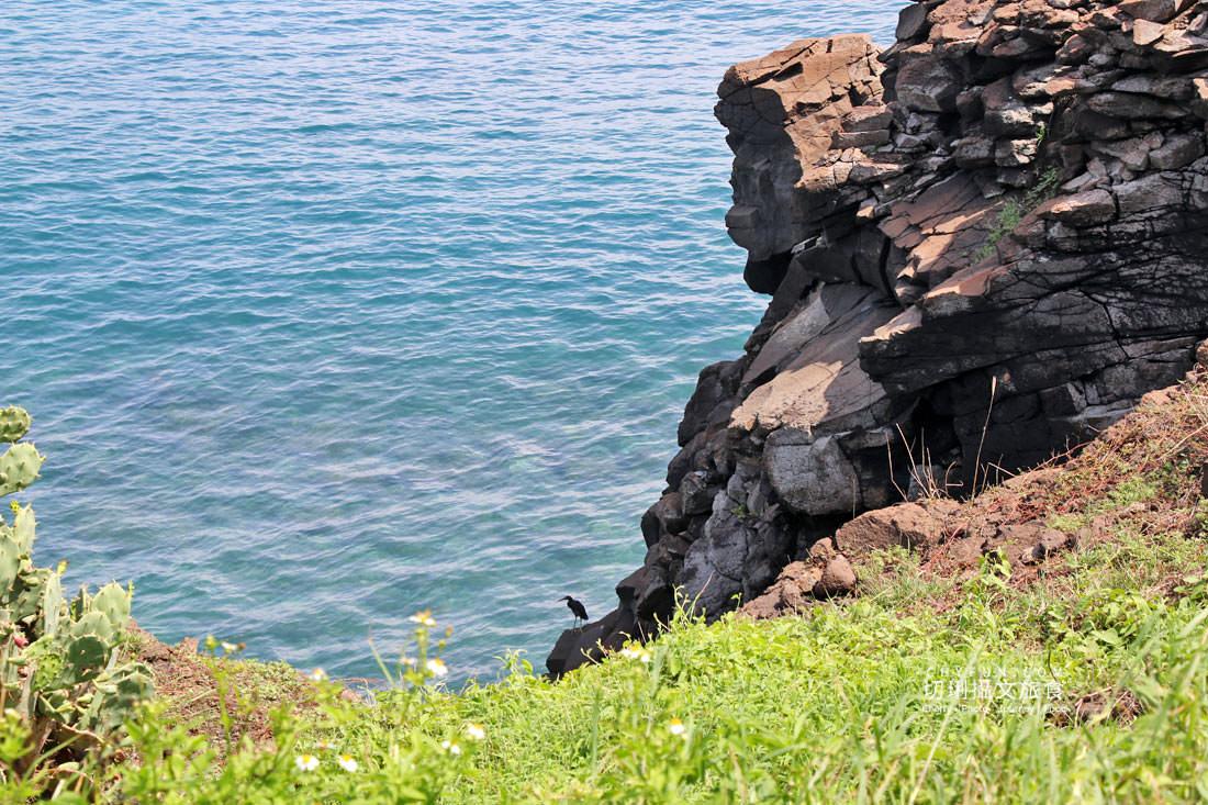 外垵海賊洞29 澎湖 外垵海賊洞美麗的傳說愛心岩洞板狀裂岩,退潮來賞石觀浪獨享靜謐地