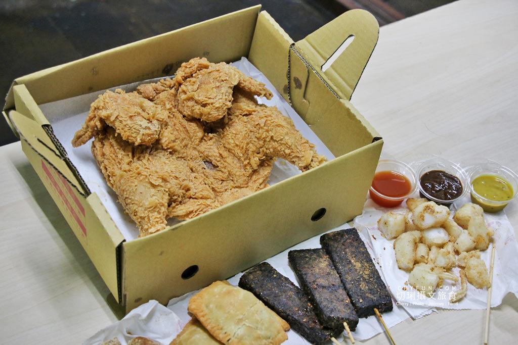 桃城雞排炸全雞01 嘉義|桃城雞排炸全雞中正創始店,在地經營多年鹹酥雞鮮嫩不乾柴