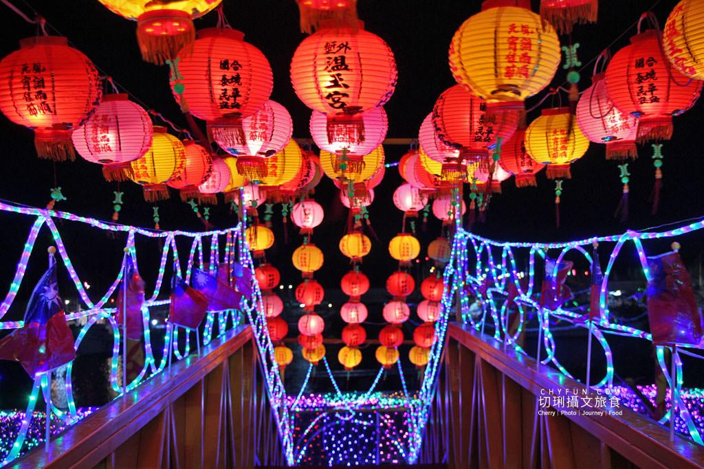 澎湖元宵-外垵元宵溫王宮10 澎湖|西嶼外垵讚元宵,創意水火舞燈光秀花火碼頭施放