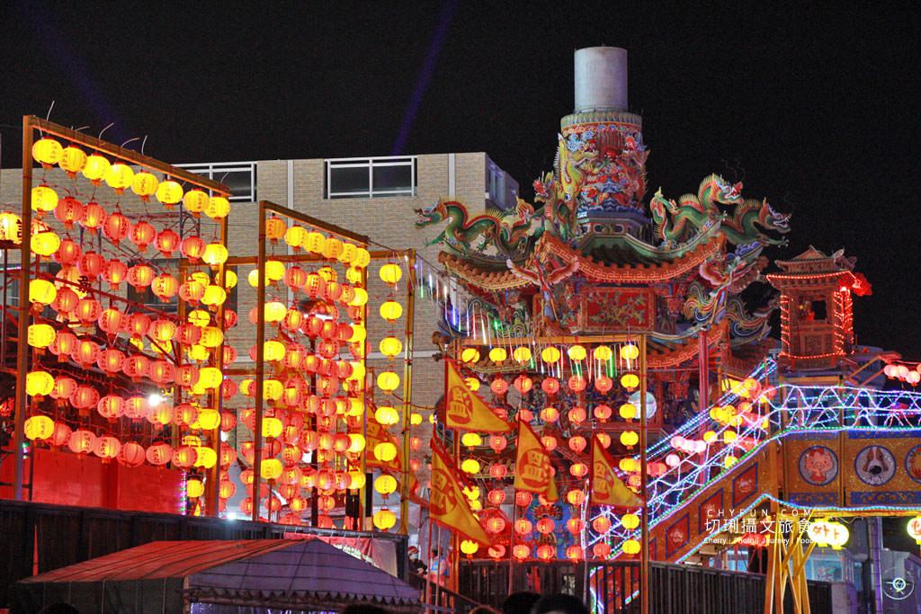 澎湖元宵-外垵元宵溫王宮11 澎湖|西嶼外垵讚元宵,創意水火舞燈光秀花火碼頭施放