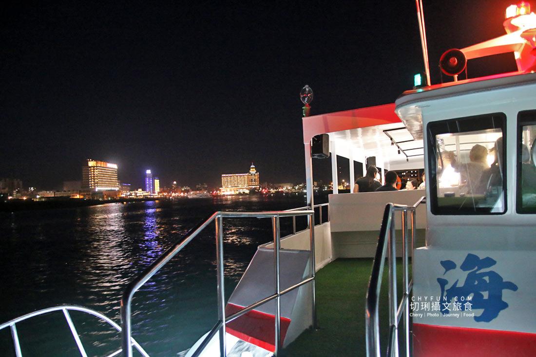 澎湖夜釣小管-海派對遊艇02 澎湖 不一樣的夜釣小管行程在海上享受,海派對遊艇趴豪華出港