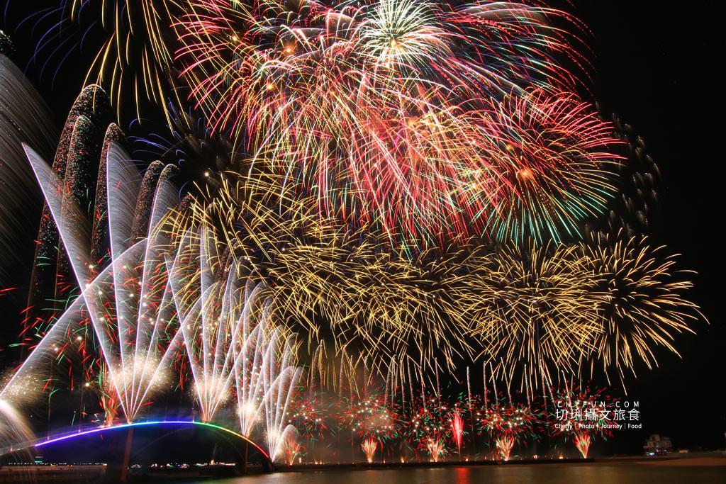 澎湖旅遊、2020澎湖花火節開幕式、漫威無人機表演05 澎湖|澎湖花火節漫威2020開幕,壯觀漫威宇宙300台無人機搭壯觀絢麗煙花