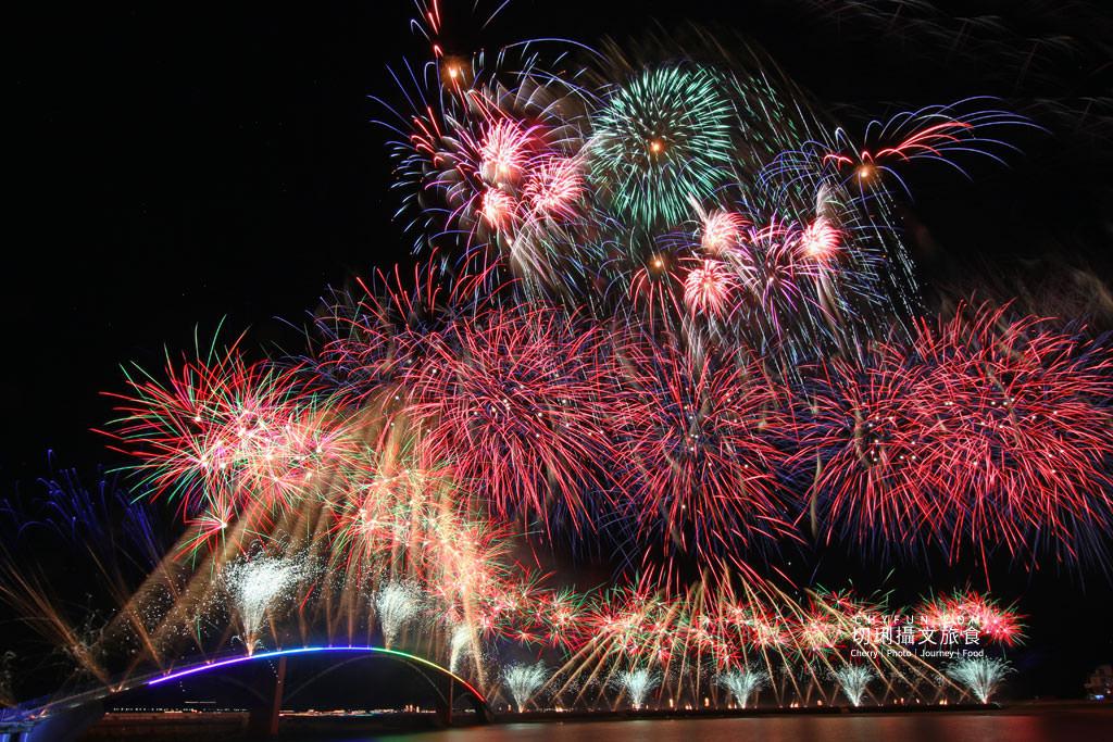 澎湖旅遊、2020澎湖花火節開幕式、漫威無人機表演07 澎湖|澎湖花火節漫威2020開幕,壯觀漫威宇宙300台無人機搭壯觀絢麗煙花