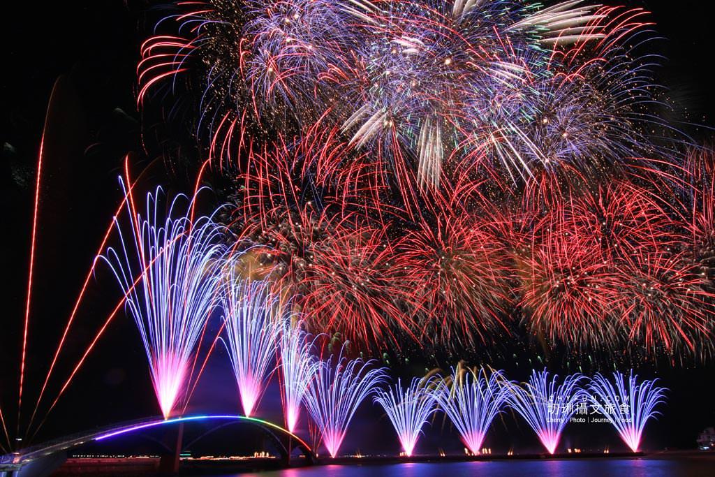 澎湖旅遊、2020澎湖花火節開幕式、漫威無人機表演08 澎湖|澎湖花火節漫威2020開幕,壯觀漫威宇宙300台無人機搭壯觀絢麗煙花