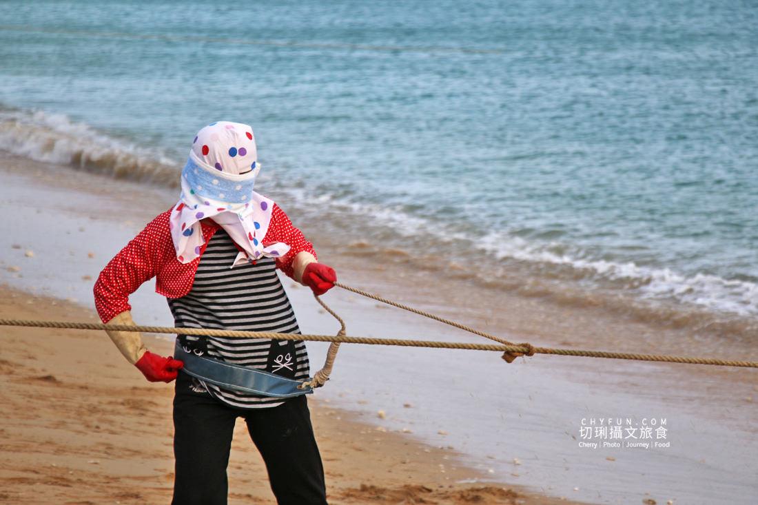 澎湖林投牽罟07 澎湖|牽罟趣體驗在林投沙灘,同心協力靠腰捕魚快來當半日漁夫