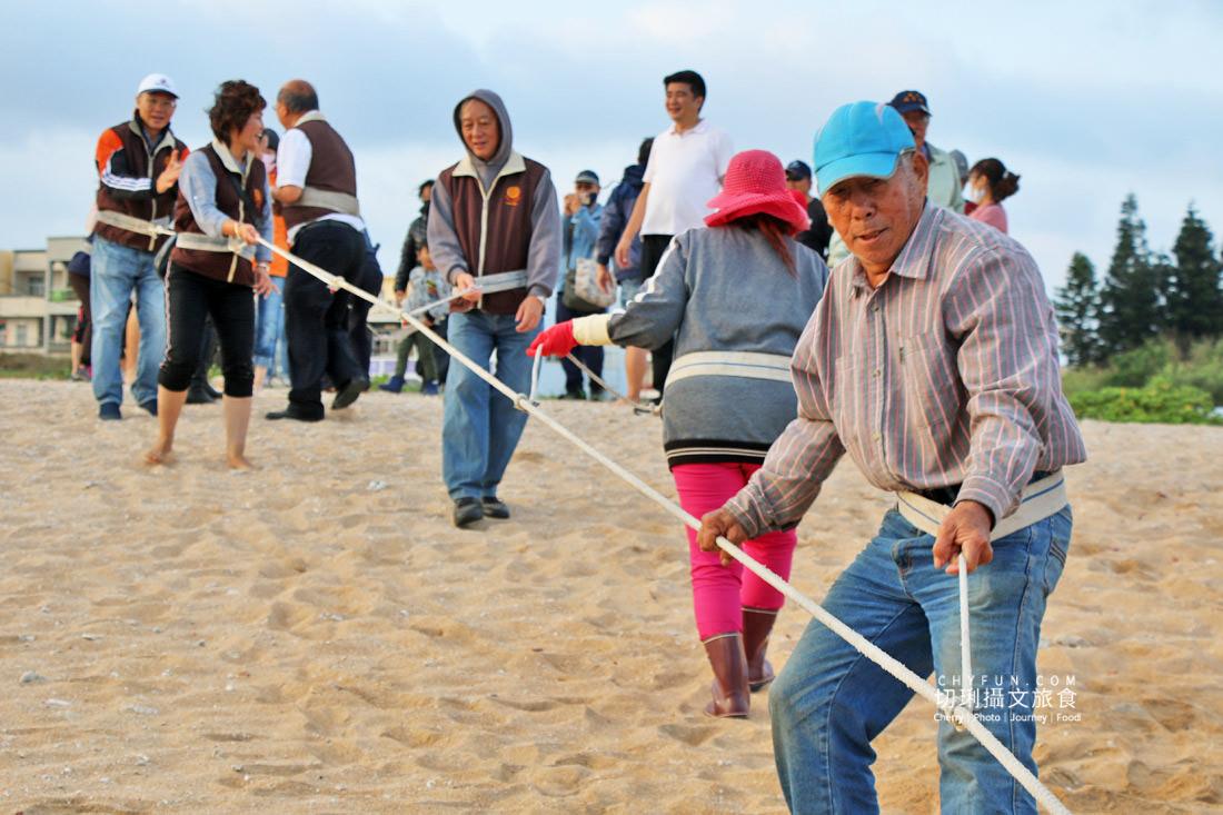 澎湖林投牽罟08 澎湖|牽罟趣體驗在林投沙灘,同心協力靠腰捕魚快來當半日漁夫