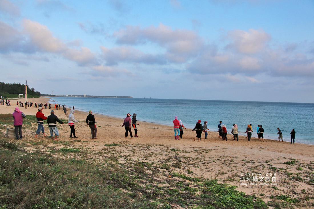 澎湖林投牽罟09 澎湖|牽罟趣體驗在林投沙灘,同心協力靠腰捕魚快來當半日漁夫