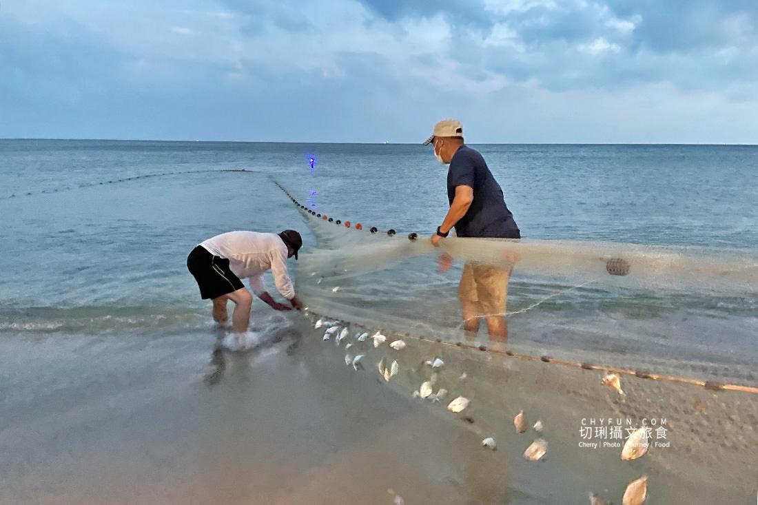 澎湖林投牽罟13 澎湖|牽罟趣體驗在林投沙灘,同心協力靠腰捕魚快來當半日漁夫