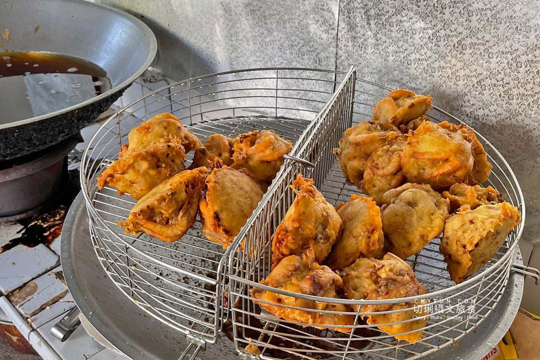 澎湖炸粿大池炸粿鯊魚排01 澎湖 大池炸粿鯊魚排真材實料只要銅板價,就能吃到在地特色的低調下午茶點心