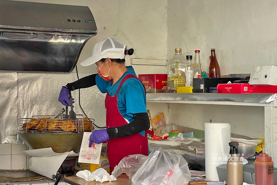 澎湖炸粿大池炸粿鯊魚排08 澎湖 大池炸粿鯊魚排真材實料只要銅板價,就能吃到在地特色的低調下午茶點心