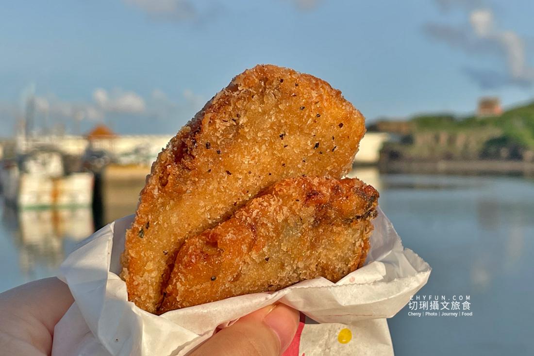 澎湖炸粿大池炸粿鯊魚排14 澎湖 大池炸粿鯊魚排真材實料只要銅板價,就能吃到在地特色的低調下午茶點心