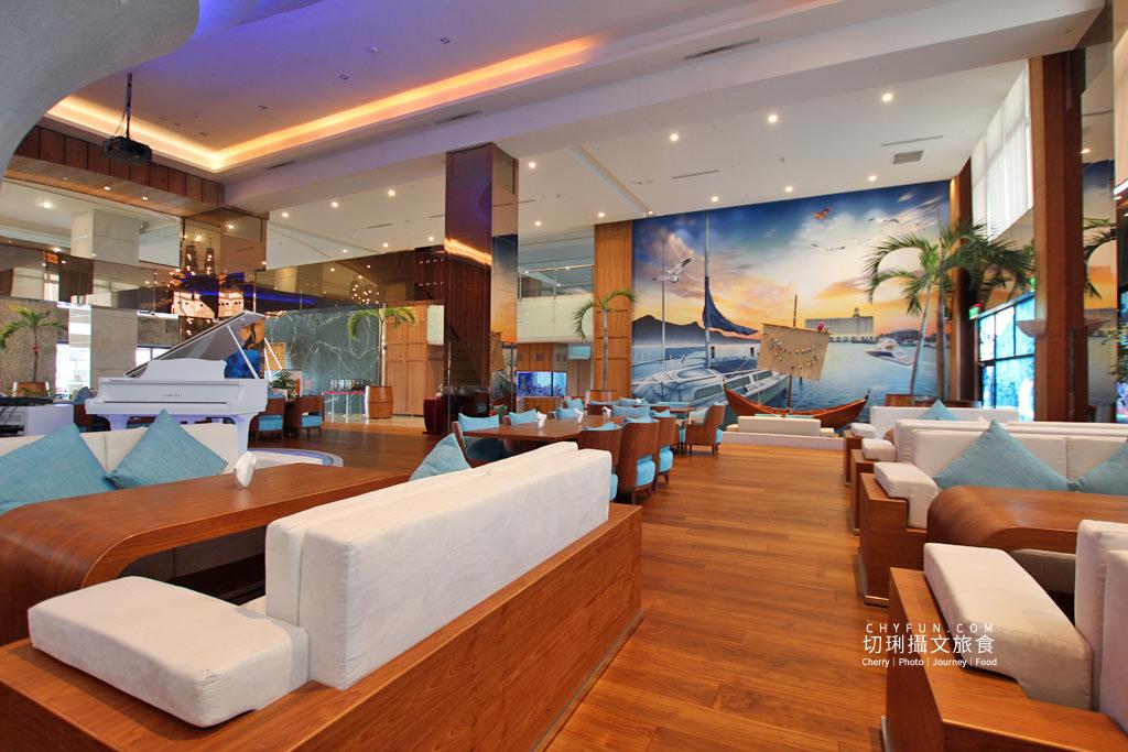 澎湖美食、澎湖喜來登、藍洞餐廳、龍膽石斑海鮮麵線05 澎湖|海鮮在地味龍膽石斑搭麵線,在喜來登藍洞就能獨享鮮氣豪華飽足
