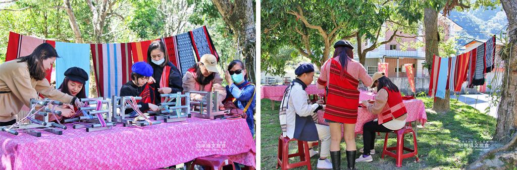 玩不一樣的農村部落二日遊07-熊肯作織布的家-賽德克族織布體驗 南投|玩不一樣的農村部落二日遊,發掘與體驗多樣化的在地故事