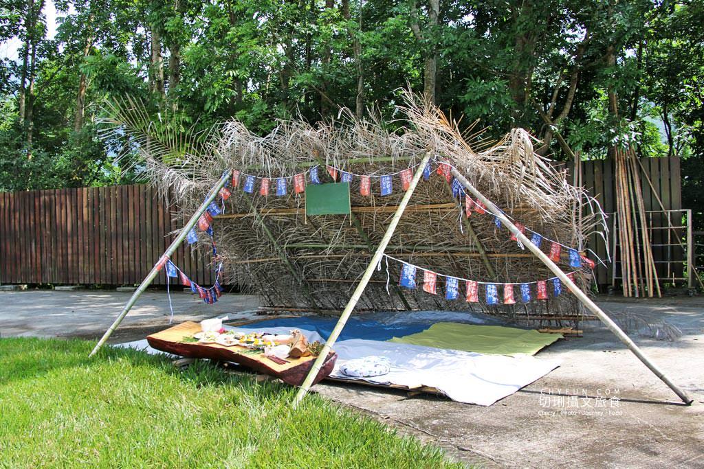 阿里山新美部落野餐那麼古謠04 嘉義|阿里山新美部落品味網美獵人營野餐,圍著營火聽那麼古謠