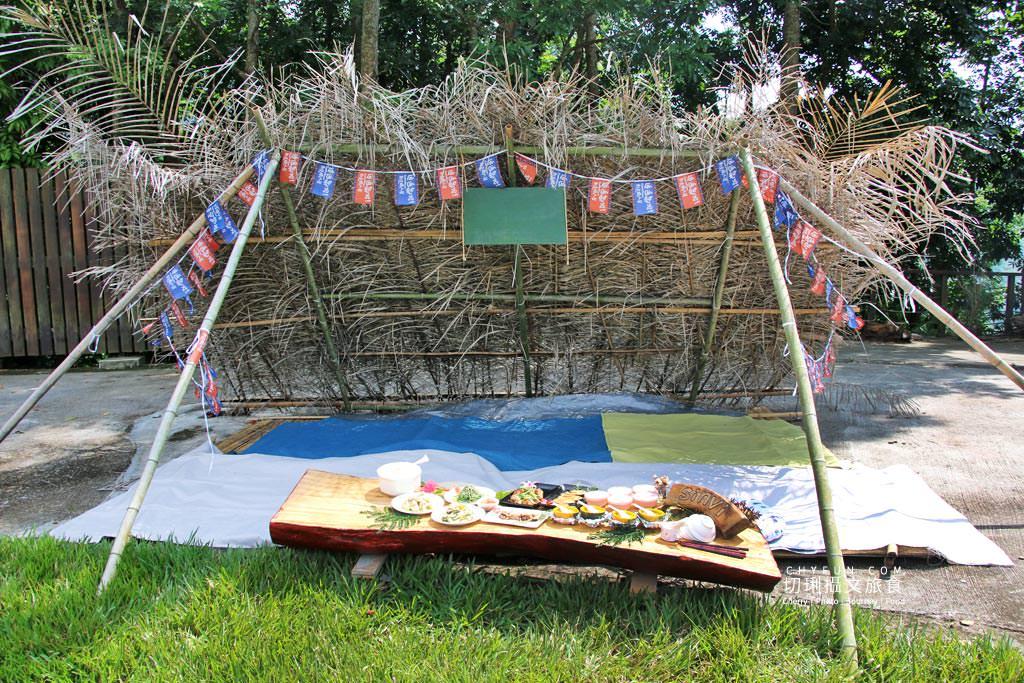 阿里山新美部落野餐那麼古謠05 嘉義|阿里山新美部落品味網美獵人營野餐,圍著營火聽那麼古謠