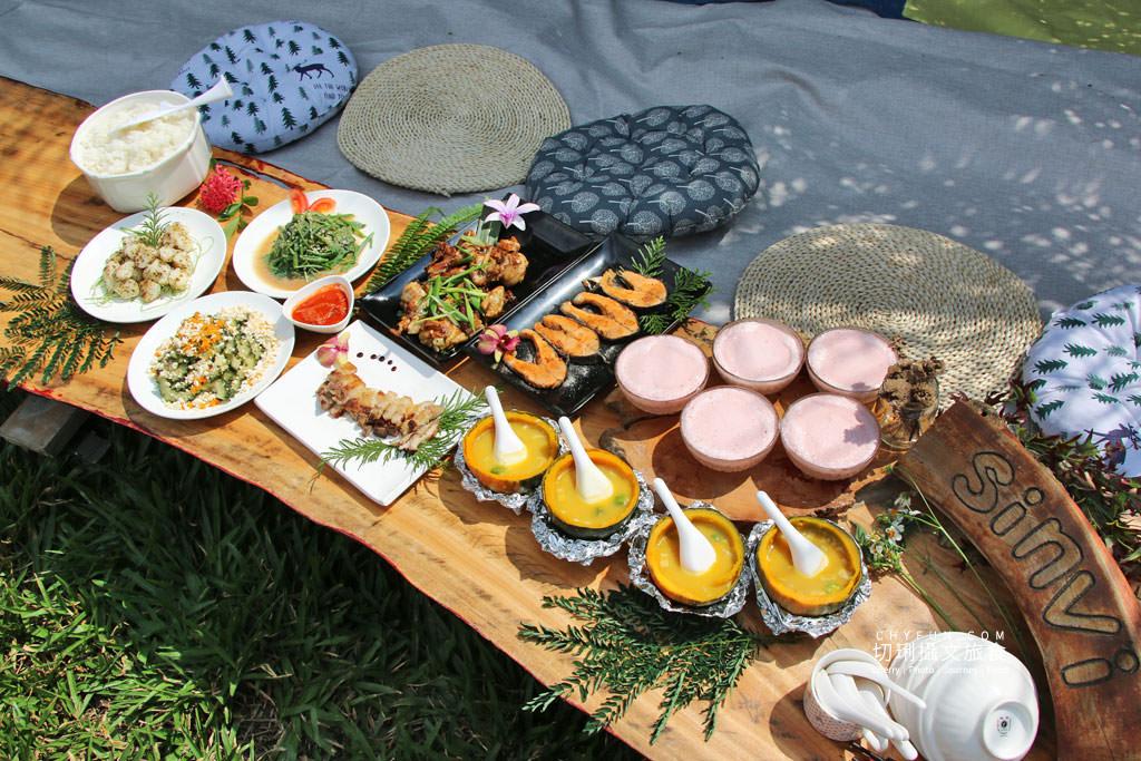 阿里山新美部落野餐那麼古謠07 嘉義|阿里山新美部落品味網美獵人營野餐,圍著營火聽那麼古謠