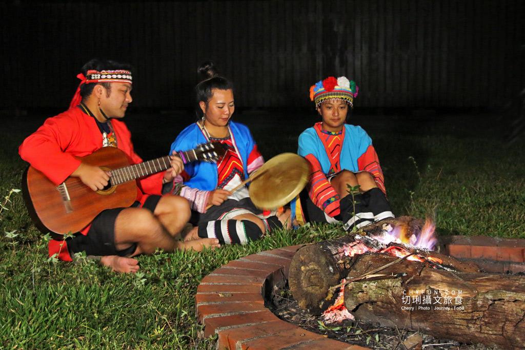 阿里山新美部落野餐那麼古謠25 嘉義|阿里山新美部落品味網美獵人營野餐,圍著營火聽那麼古謠