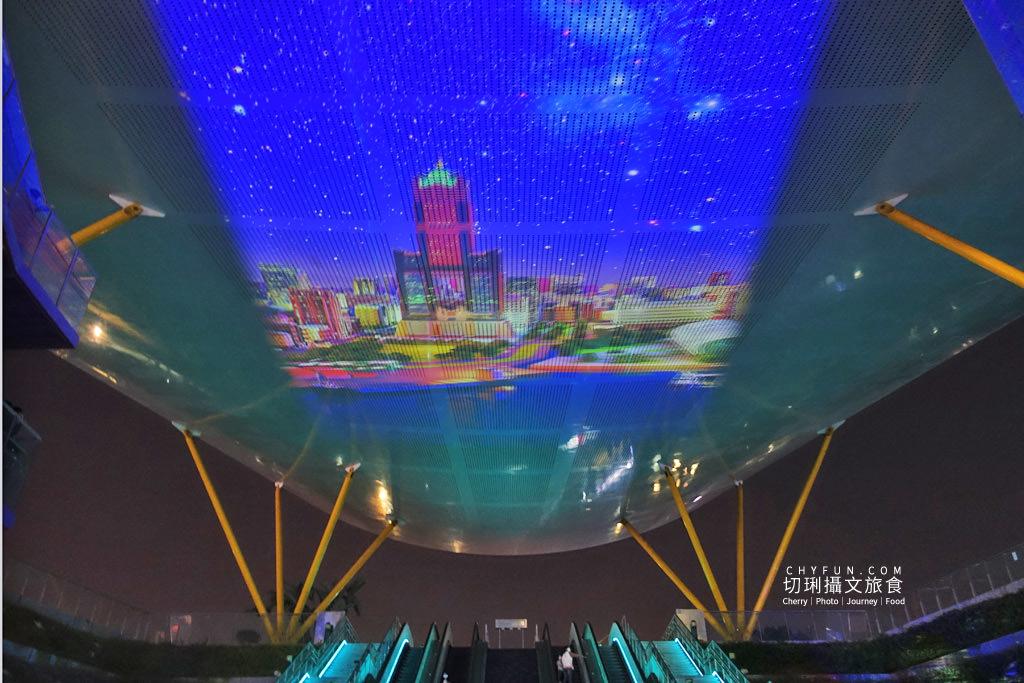 高雄光合作用HIGH-LIGHT高雄鳳翼天翔09 高雄|中央公園X美麗島站光影秀璀璨,鳳翼天翔3D立體投影大型藝術天地兩篇定點播