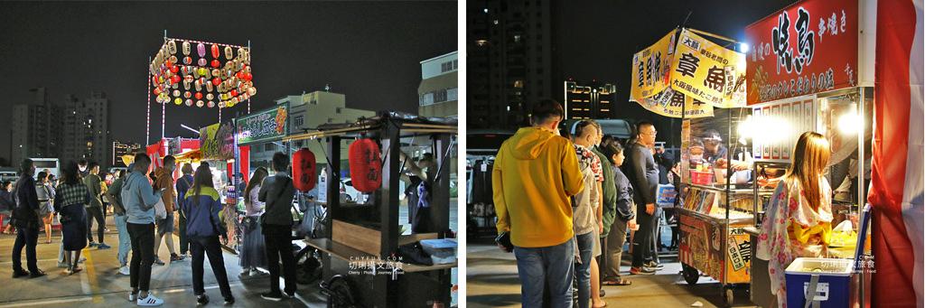 高雄日本夜市美食祭32-1 高雄|日本夜市美食祭享日本味,集結屋台在勞工夜市為期三個月