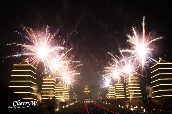 佛光山佛陀紀念館2013春節限定煙火