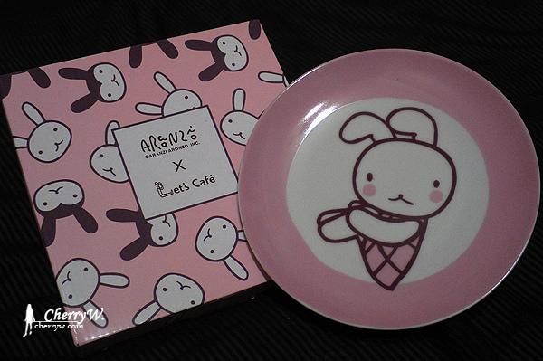 全家與阿朗基Aranzi Aronzo可愛盤-白兔妹01.jpg