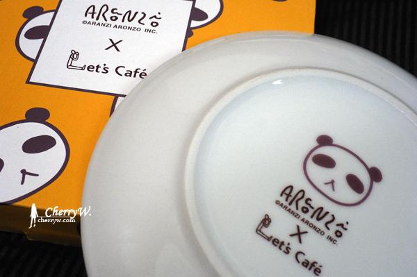 全家與阿朗基Aranzi Aronzo可愛盤-熊貓哥02.jpg