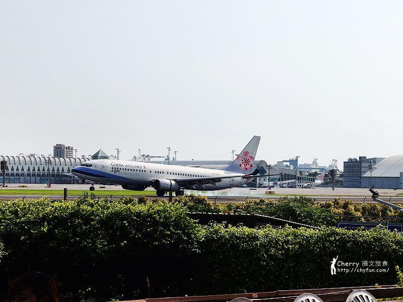 淨園農場看飛機吃下午茶20-華航.jpg