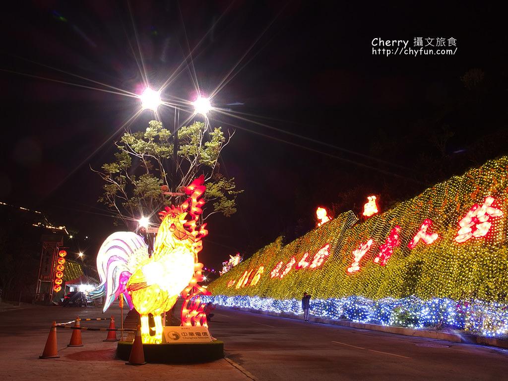 佛光山2017年春節平安燈法會與3D光雕煙火秀10
