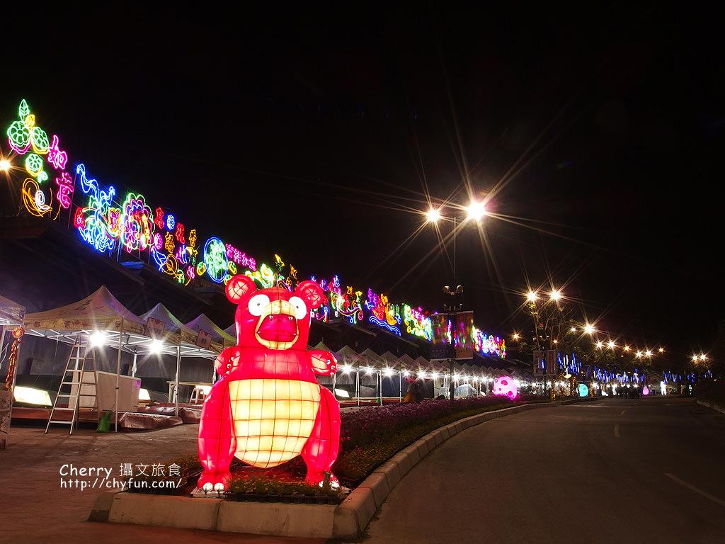 佛光山2017年春節平安燈法會與3D光雕煙火秀14