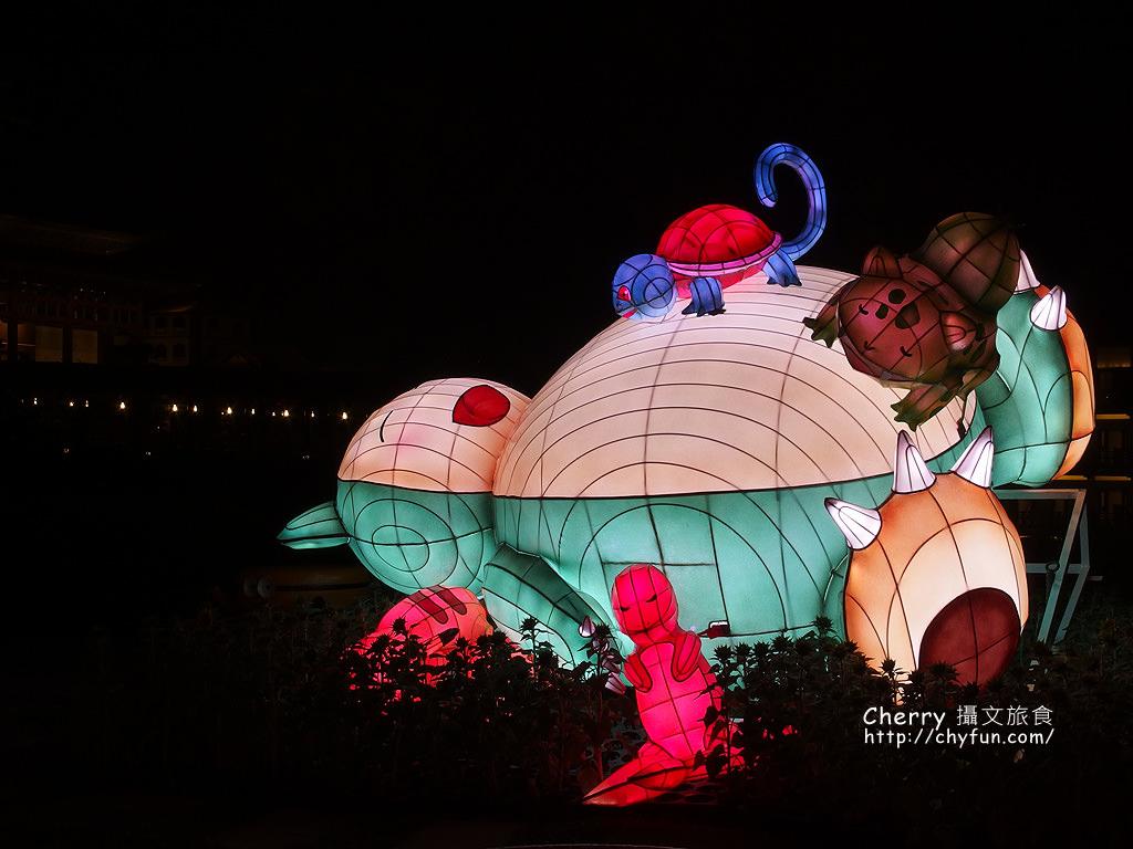 佛光山2017年春節平安燈法會與3D光雕煙火秀24