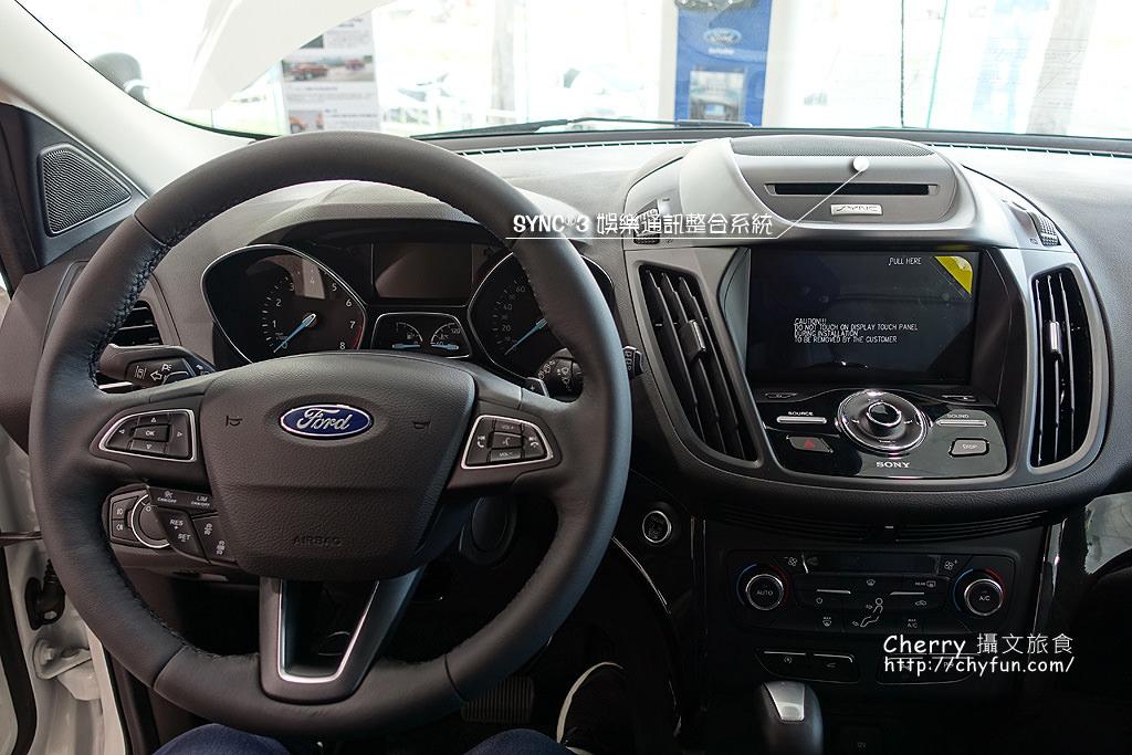 20170724182851_93 賞車 福特FORD NEW KUGA 245旗艦型,智能休旅車安全配備更優質