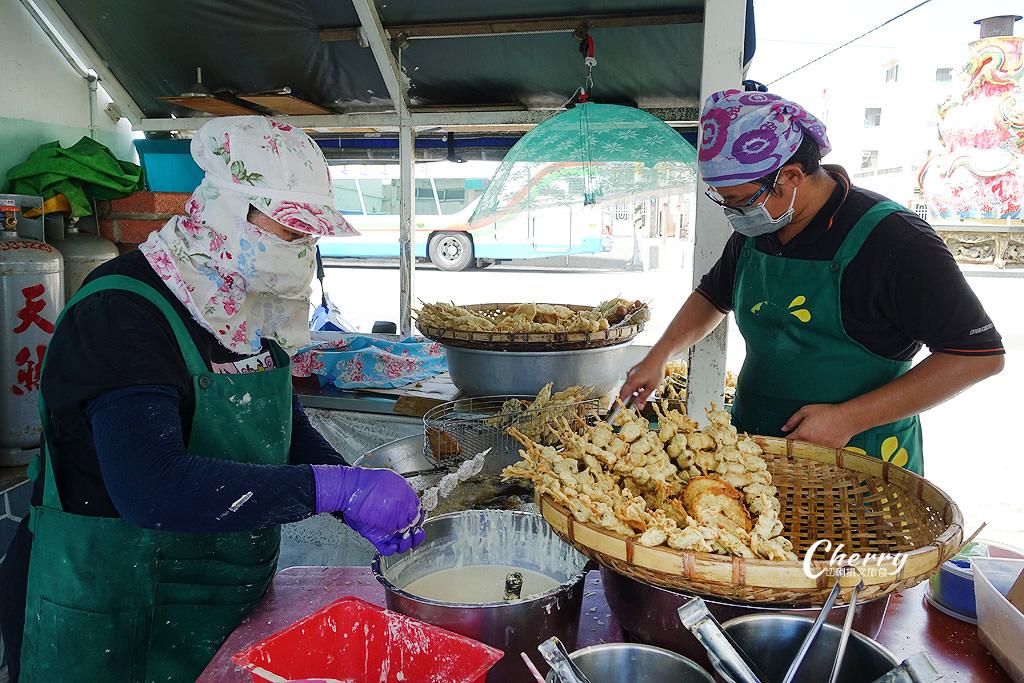 20170927043056_9 澎湖|回家炸粿炸物在白沙講美,大馬路旁新鮮現炸人氣超旺