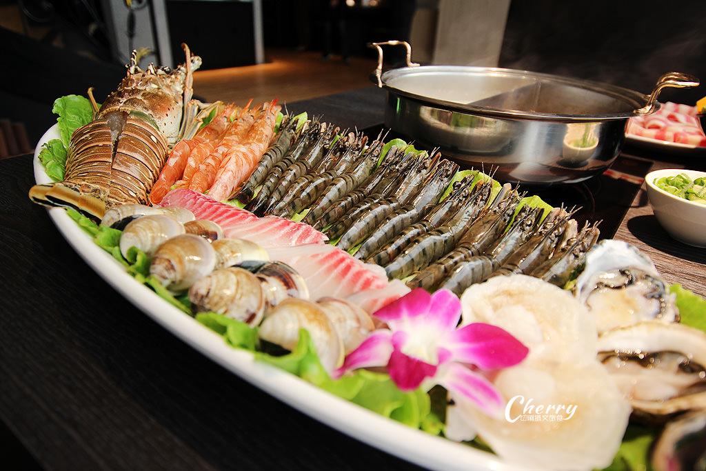 20171205001038_39 高雄|方圓涮涮屋新鮮海鮮盤,大隻龍蝦與滿滿蝦爆鍋